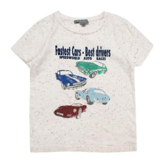 Bonpoint off-white cars print t-shirt
