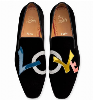 Christian Louboutin Dandylove Black Loafers