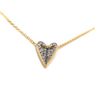 Elena Votsi White Diamond Eros Necklace