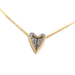 Elena Votsi White Diamond Eros Necklace