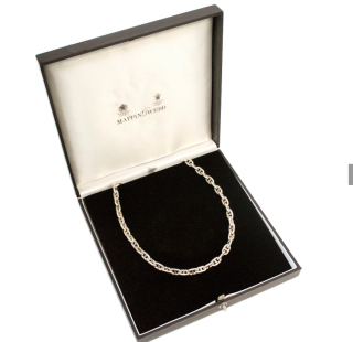 Mappin & Webb Silver Chain Link Necklace