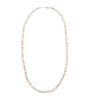 Mappin & Webb Small Silver Link Necklace