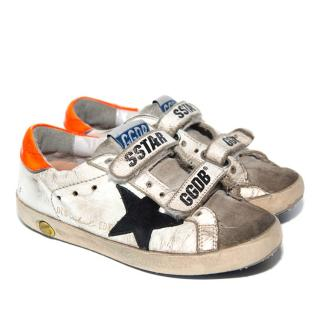 Golden Goose White Old School Edt. Superstar Trainers