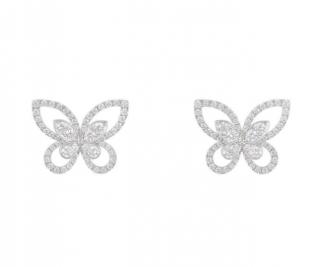 Graff Diamond Earrings in White Gold