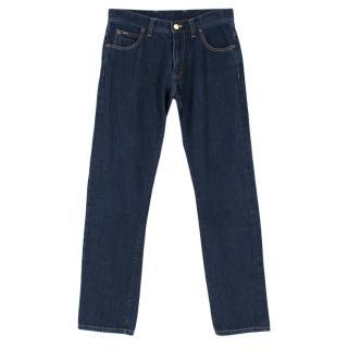 Tom Ford Mens Dark indigo Jeans