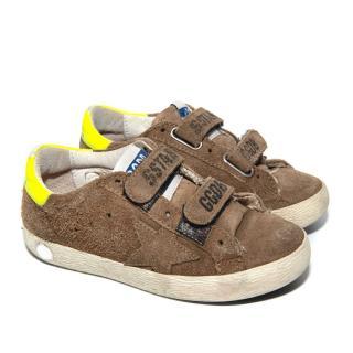 Golden Goose Kids Old School Sneakers