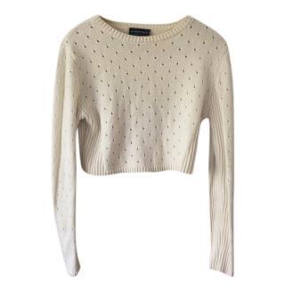 Cashmere in Love Cream Knit Britta Jumper