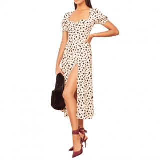 Reformation Polka Dot Lacey Dress