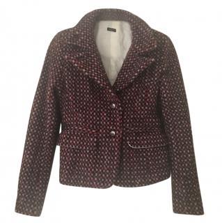 Joseph Red Wool Jacket
