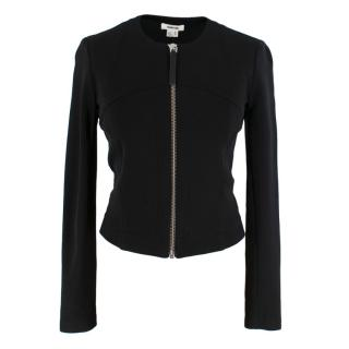 Helmut Lang Black Panelled Track Top Jacket