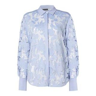 Sportmax Code Blue Lace Shirt