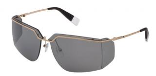 Furla De Rigo Rimless Shield Sunglasses