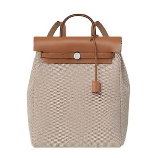 Hermes Herbag a dos Zip retourne backpack