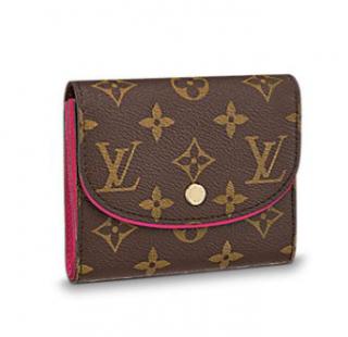 Louis Vuitton Monogram Fuchsia Compact Ariane Wallet