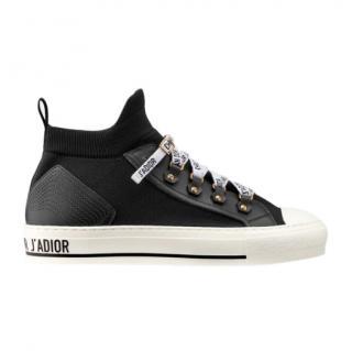 Dior Black Technical Mesh Walk'n'Dior Sneakers
