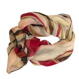 Missoni Multi-Coloured Silk Scarf