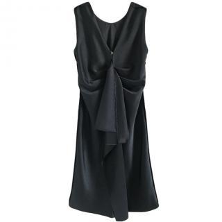 Boss Hugo Boss Black Draped MIni Dress