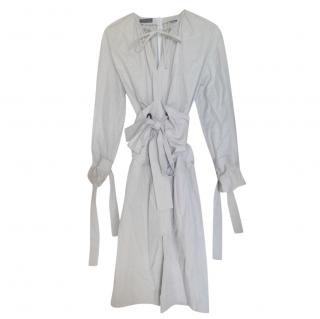 Eudon Choi beige belted trench dress