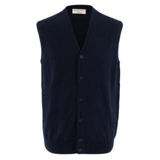 Bernardo Firenze Blue Cashmere Vest