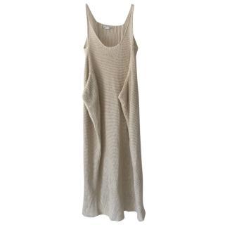 Stella McCartney Crochet Knit Sleeveless Dress
