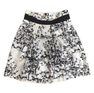 Diane von Furstenberg Zellie Black & White Skirt
