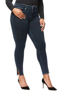 Good American Good Legs Side Slit Jeans