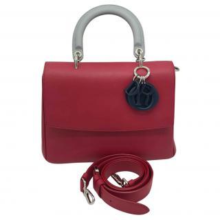 Dior Tri-Colour Small Be Dior Top Handle Bag