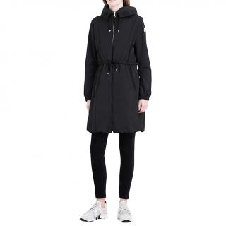 Moncler Black Tuile Quilted Jacket