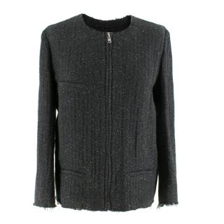 Isabel Marant Grey Tweed Boucle Jacket