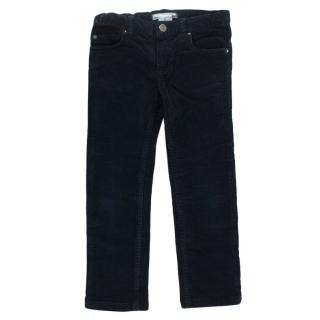 Bonpoint Navy Corduroy Trousers