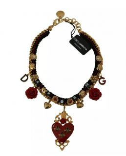 Dolce & Gabbana Amore Heart Charm Necklace