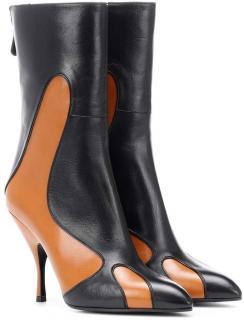 Bottega Veneta Two-Tone Ankle Boots