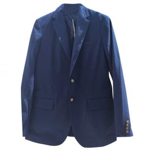Polo Ralph Lauren Navy Cotton Blazer