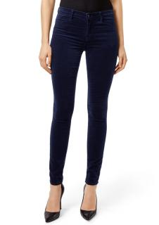 J Brand Maria High Rise Velvet Jeans - Night Out