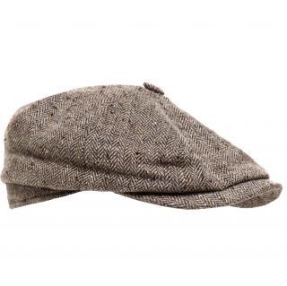 Stetson Hatteras flat cap