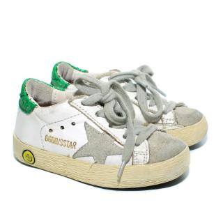 Golden Goose Kids Superstar Trainers