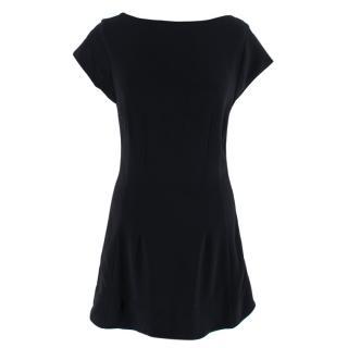Stella McCartney Black Sleeveless Mini Dress