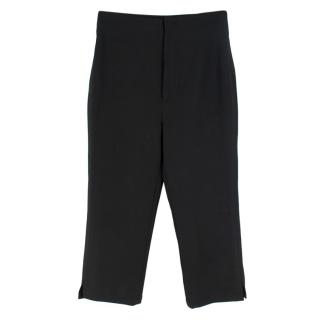 Jacquemus La Bomba Cropped Straight Leg Trousers