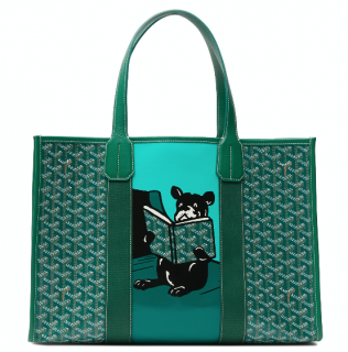 Goyard Green Saint Tropez Villette MM