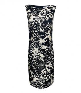 Dior Wool & Silk Jacquard Sleeveless Dress