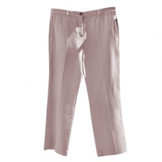 Roberto Cavalli Pink Tailored Pants
