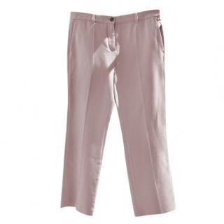 Roberto Cavalli Pink Tailored Pants