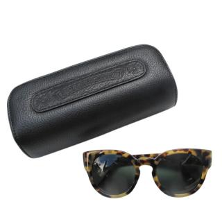 Chrome hearts Cat-Eye Tortoiseshell Sunglasses