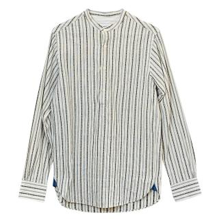 Officine Generale Cotton Striped Shirt