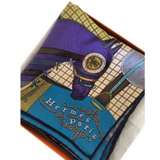 Hermes Pour Sortir Silk Scarf 90
