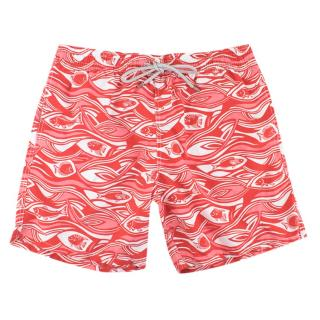 Vilebrequin Red Patterned Swim Shorts