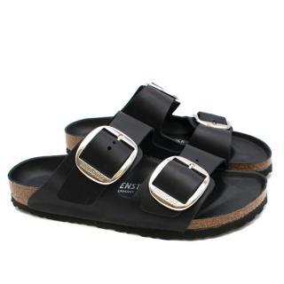 Birkenstock Black Two Strap Arizona Sandals