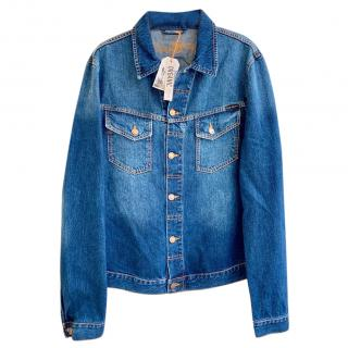 Nudie Kenny Denim Male Jacket in Blue Mood