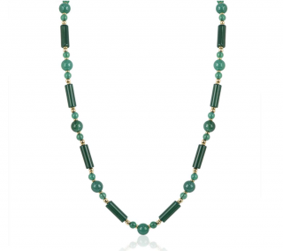 Van Cleef & Arpels Yellow Gold Beaded Necklace