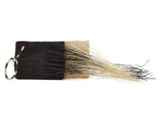 Sensi Studio Black Multi-Straw Clutch
